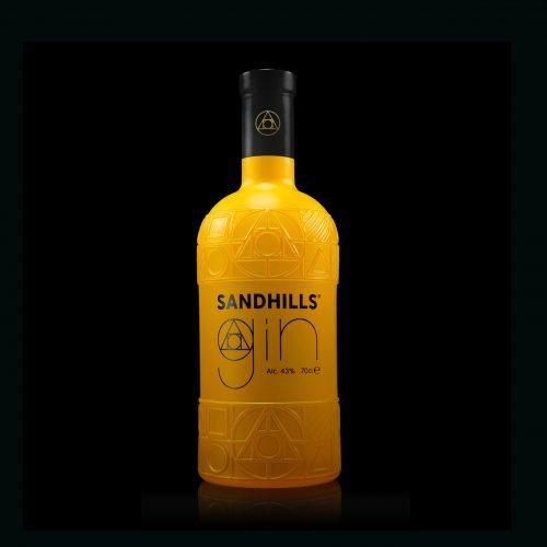Sandhills gin bottle